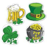 """Déco de salle """"St. Patrick's Day"""" 4 pcs."""