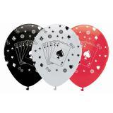 "6 ballons ""Casino Life"""
