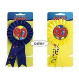 """Médaille rosette """"90 ans"""" 15 cm"""