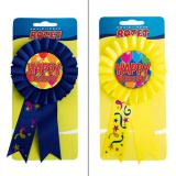 Rosette Happy Birthday 15 cm