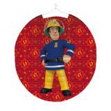 """Lanterne ronde """"Sam le pompier courageux"""" 23 cm"""