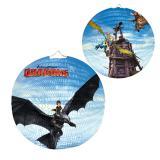 """Lampion """"Dragons : Cavaliers de Beurk"""" 25 cm"""