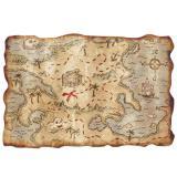 Carte au trésor 30 x 46 cm