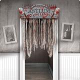 """Rideau de porte """"Centre de l'horreur"""" 137 cm"""