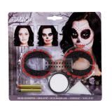 "Kit de maquillage ""Dia de los Muertos"" 6 pcs"