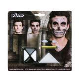 """Kit de maquillage """"Squelette"""" 4pcs"""