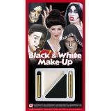 """Set de maquillage """"Black and White"""" 4 pcs."""