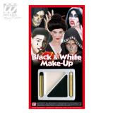 "Set de maquillage ""Black and White"" 4 pcs."