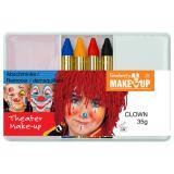 """Set de maquillage """"Clown"""" 6 pcs"""