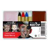 "Set de maquillage ""Cow-boy et pirate"" 6 pcs"