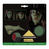 """Set de maquillage """"Sorcière"""" avec nez 7 pcs"""