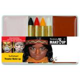 "Set de maquillage ""Indien"" 6 pcs"