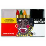 """Set de maquillage noir """"Africain"""" 6 pcs"""