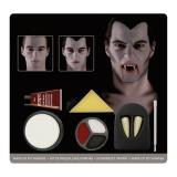 "Set de maquillage ""Vampire"" avec dents 6 pcs"