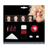"""Kit de maquillage """"Zombie"""" avec oeil 7 pcs."""