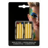 """Crayons à maquillage """"Haut-en-couleur"""" 6 pcs"""