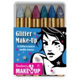 """Crayons à maquillage """"Paillettes"""" 6 pcs"""