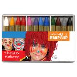 "Crayons à maquillage ""Grand set Carnaval"" 12 pcs"
