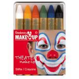 "Crayons à maquillage ""Carnaval"" 6 pcs"