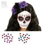 """Strass pour visage """"Dia de los Muertos"""" 40 pcs."""