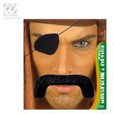 "Moustache et cache-oeil ""Pirate"" 2 pcs."