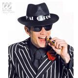 """Chapeau noir """"Mafia"""""""