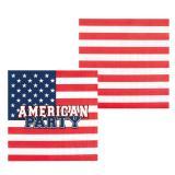"12 serviettes ""American Party"""