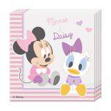 """20 serviettes """"Baby Minnie & Daisy"""""""