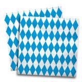 """20 serviettes en papier """"Bavière"""" 33 cm"""
