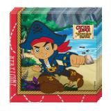 "20 serviettes ""Captain Jake & les pirates du pays imaginaire"""