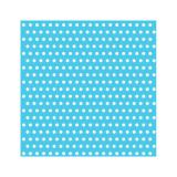"20 serviettes ""Crazy Dots"" - bleu clair"