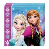 "20 serviettes ""La scintillante reine des neiges"""