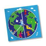 """20 serviettes """"Notre planète"""""""