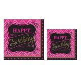 """16 serviettes """"Fabulous Birthday"""""""