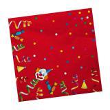 """20 serviettes en papier """"Carnaval en folie"""""""