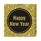 """20 serviettes """"Glamour New Year"""""""