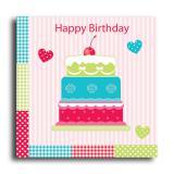 """20 serviettes """"Happy Birthday"""""""