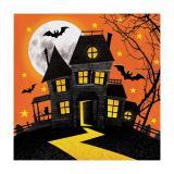 """16 serviettes """"Happy Halloween"""""""