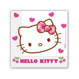 "20 serviettes ""Hello Kitty"""