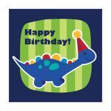 "16 serviettes ""Petit Dino"" Happy Birthday"