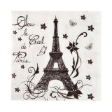 "20 serviettes ""Tour Eiffel"""