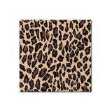 "20 serviettes ""Motif léopard"""