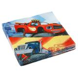 "20 serviettes ""Blaze et les Monster Machines"""
