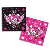 "20 serviettes en papier ""Pirate Girl"""