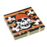 """20 serviettes en papier """"Trésor de pirates"""""""
