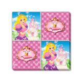 """16 serviettes """"Vie de princesse"""""""