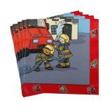 """20 Serviettes """"Pompiers rapides"""""""