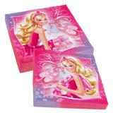 "20 serviettes ""Jolie Barbie"""