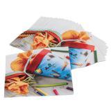 """20 serviettes """"Pochettes surprises"""""""