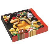 """20 serviettes """"Super Mario"""""""